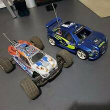 Two 1/10 Scale Thunder Tiger Rc Cars Middleton Grange Liverpool Area Preview
