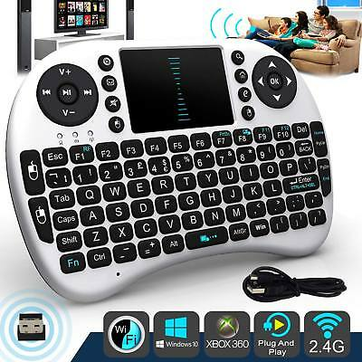 Mini Wireless Remote Tastatur Maus für Samsung LG Smart TV Android TV Box (Smart Tv Wireless Tastatur)