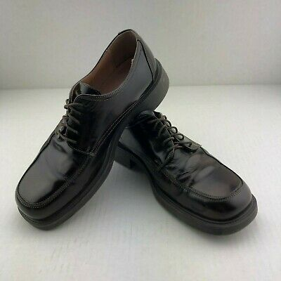 Alfani Black Leather Oxford Mens Shoes Made in Italy Size 11 Med