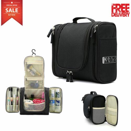 Hanging Makeup Travel Toiletry Bag Large Kit Folding Organiz