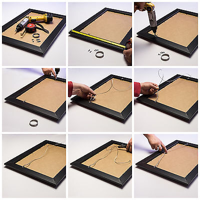 Craig Frames Contemporary, Gallery Black Picture Frame