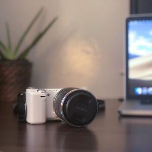 Sony NEX-5R Mirrorless Digital Camera with 18-55mm Lens