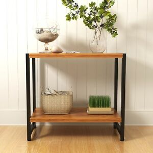CTF MORGAN Walnut Console Table Hallway Table Living Room Table