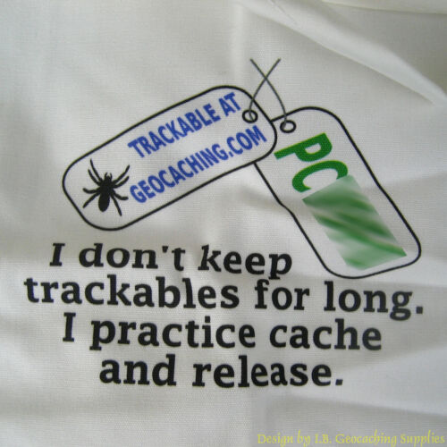 Practice Cache & Release Trackable Tote Bag