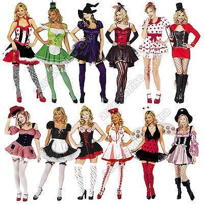 Damen Halloween Kostüm sexy viele Stile Größe XS-XL Menge