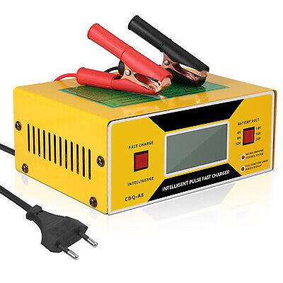 Cargador y mantenimiento de baterías con abrazadera para coche de cable 6/8/24...