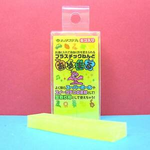 Oyumaru-Modeling-Compound-Moulding-Stick-Yellow-6-pcs-set