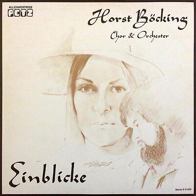 Horst Böcking Einblicke 1980 PETZ private press DOPE SITAR BEATLES COVER LP