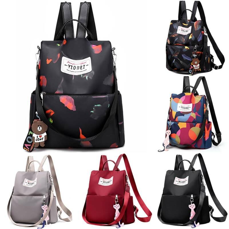 Women Backpack Waterproof Anti-Theft Rucksack School Casual