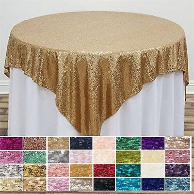 Sequin Overlay for Party Decor, Overlay Wedding Table  (Table Decor For Parties)