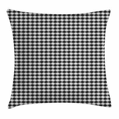 Black and Grey Throw Pillow Cases Cushion Covers by Ambesonn