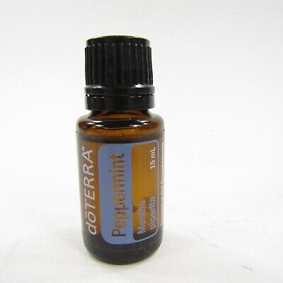 doTERRA Peppermint Essential Oil 15 ml New -