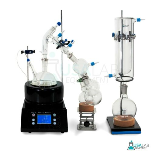 USA Lab Equipment Premium 500mL Short Path Distillation Kit