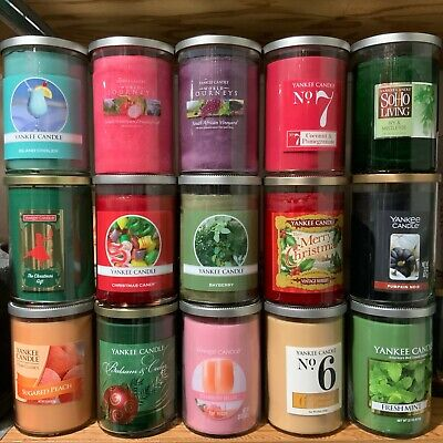 Yankee Candle Large 2-Wick Tumbler 20 & 22 oz Candles You Choose Scent Rare Jars Large 2 Wick