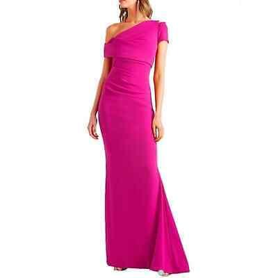 Talbot Runhof NWT Asymmetrical Razzmatazz Gown 10