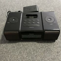 iHome iH9 Alarm Clock Speaker System Without Remote Tested - Working