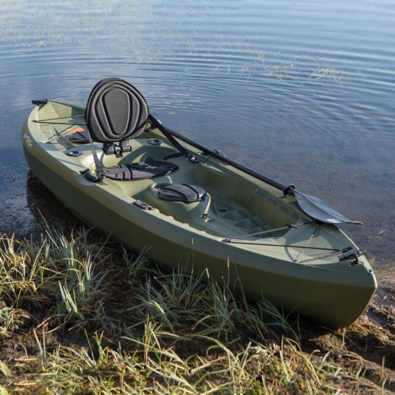 Lifetime Tamarack Angler 100 Fishing Kayak - Olive Green