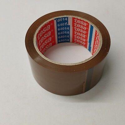 1A - (0,02€/m) 216 Ro. Klebeband TESA braun 50 x 66 PP-Packband