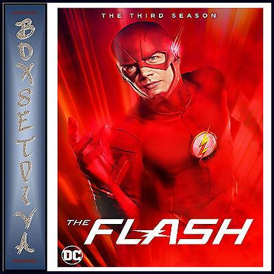 The Flash   Complete Season 3   Third Season Dc Flash    Brand New Blu Ray
