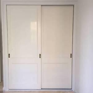 Sliding polyurethane wardrobe doors Duffys Forest Warringah Area Preview