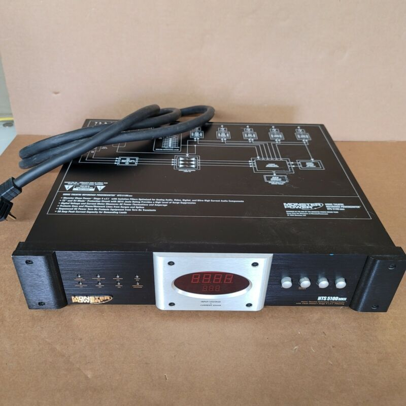 Monster Power HTS 5100MKII Home Theater Reference Power Center. Free shipping