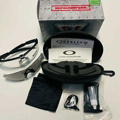 BNIB Oakley Eye Pro SI Ballistic M Frame 2.0 Strike Safety Shooting Glasses Kit