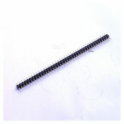 10pcs 1x40 Pin Gold Plated Round Male Pin Header