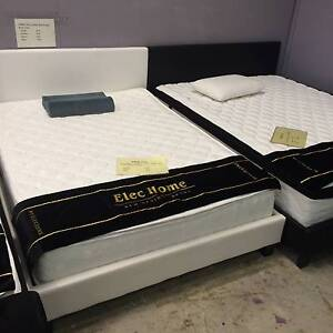 Warehouse direct double/queen/king PU Leather Bed Frame Clayton South Kingston Area Preview