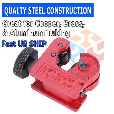 Mini Pipe Tubing Cutter 18 To 58 Od Copper Brass Aluminum Cutting Hvac Plumb