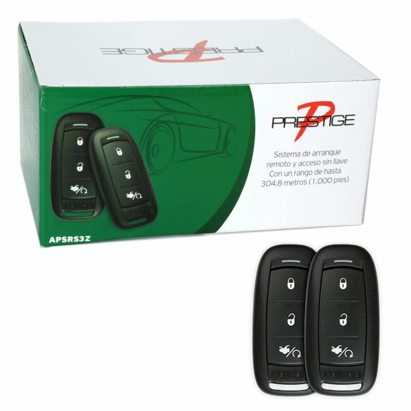 Prestige APSRS3Z Remote Car Auto Start Starter & Keyless Entry Long Range System
