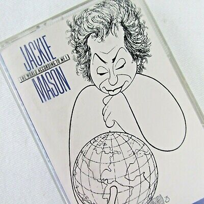 Jackie Mason The World According to Me Audio Cassette Politic Comedian Live (Jackie Mason The World According To Me)