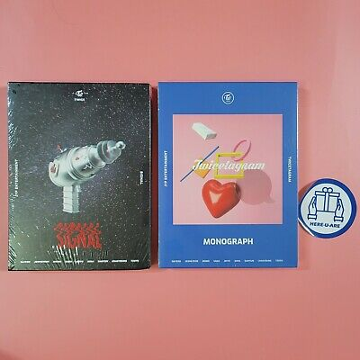 Twice monograph Twicetagram + signal NEW SEALED Photo card dvd all pack set oop