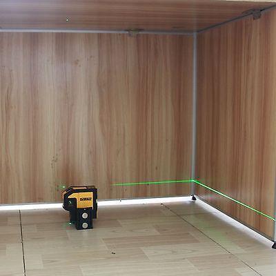 Dewalt Combilaser Green Laser Self-leveling 5-spot Largeur Horizontal Laser