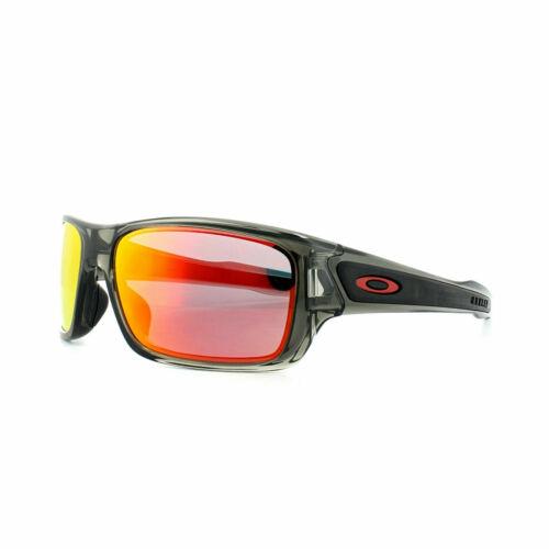 Oakley Sunglasses Turbine XS Youth Fit OJ9003 0457 Grey Smoke Ruby Iridium
