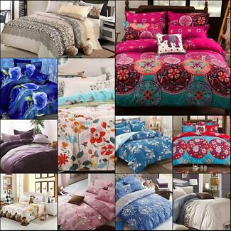 Assorted Queen Size Quilt Covers - Brand new