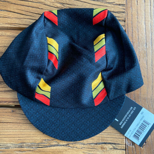 CINELLI TREAD HEX-TEK® Wicking Polyester Team Cycling Cap NEW Bike Hat Free Ship