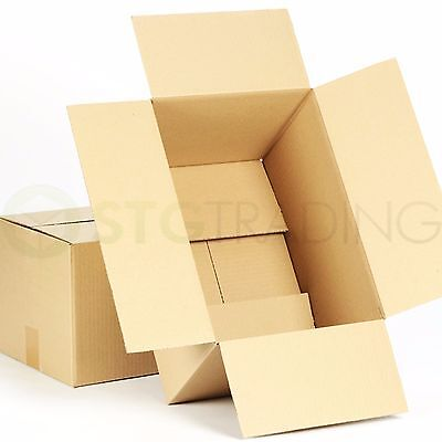 50 x MAILING CARDBOARD BOXES 12x9x4