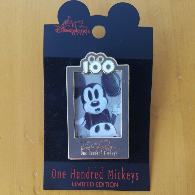DLR One Hundred 100 Mickeys Pin Series MM 060 Spooked LE3500