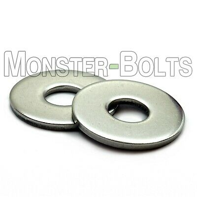 Stainless Steel Fender Penny Washers A2 Din 9021 - M3 M4 M5 M6 M8 M10 M12