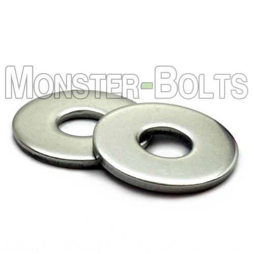 Stainless Steel Fender (Penny) Washers, A2 DIN 9021 - M3 M4 M5 M6 M8 M10 M12