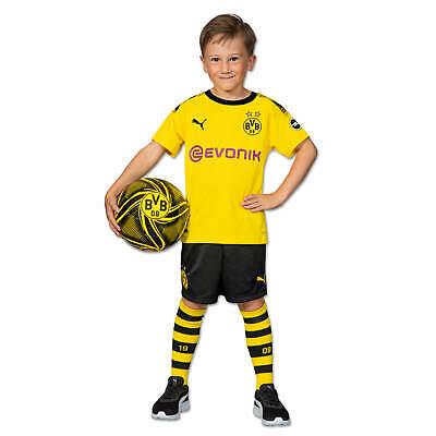 [ORIGINAL] BVB-Trikotset 19/20 für Kleinkinder Gelb Borussia Dortmund ()