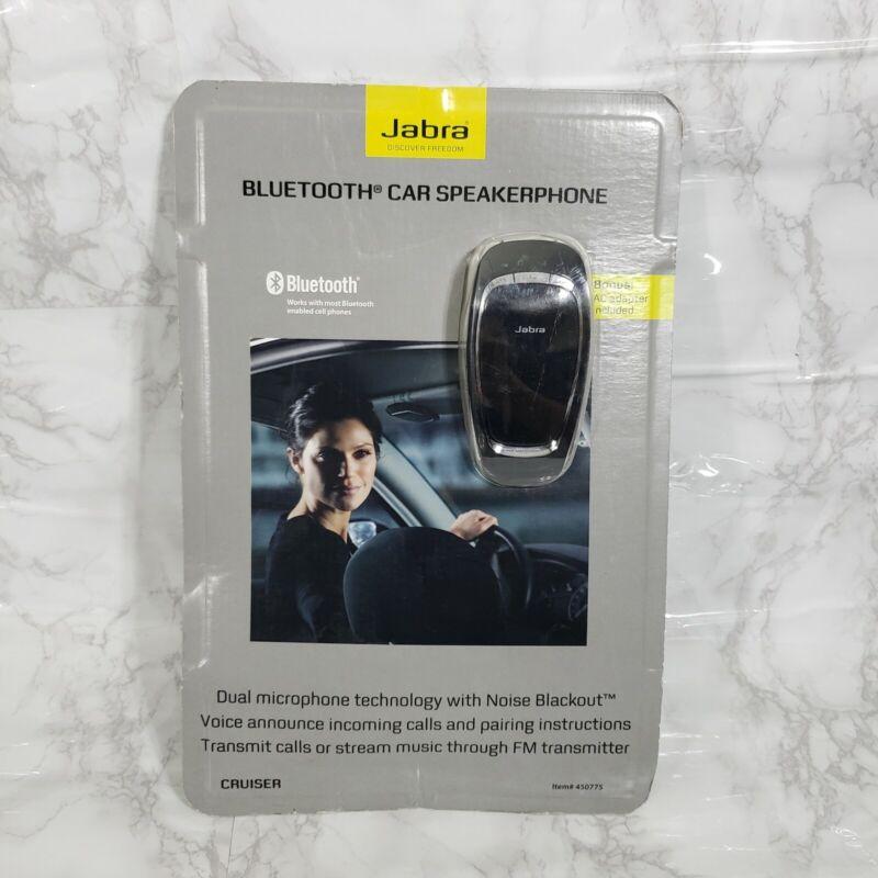 Jabra Cruiser Bluetooth Car Kit Speakerphone 450775 NEW sealed w/ AC Adapter B7
