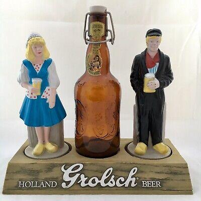 Gebruikt, Vintage GROLSCH Holland Beer Lager Bottle Advertisement Bar Top Counter Display tweedehands  verschepen naar Netherlands