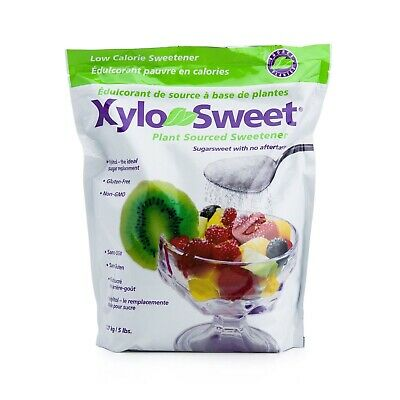 XyloSweet Non-GMO Xylitol Natural Alternative Sweetener Granules, 5lb -