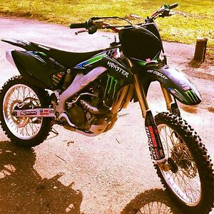 2007 Kawasaki Kx250f MONSTER