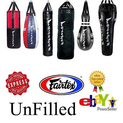 PUNCHING BAG FAIRTEX HB15 TEAR DROP BAG PUNCH MUAY THAI MMA BOXING UNFILLED MMA