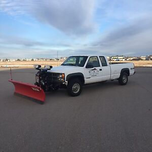 1998 Chevy 2500 Plow Truck