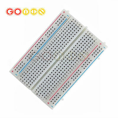 Mini Universal Solderless Breadboard 400 Contacts Tie-points