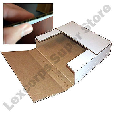 Lp Record Mailers 50 Qty 12.5x12.5x1 Variable Depth Box
