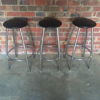 3 Bar stools Newtown Geelong City Preview